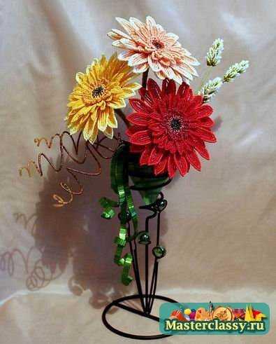 Бисероплетение цветов