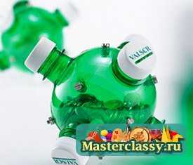 Пластиковые бутылки поделки для дачи