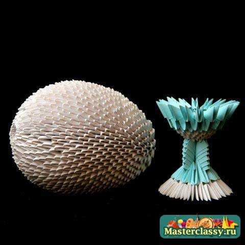 Оригами Пасхальное Яйцо Пошаговая Инструкция