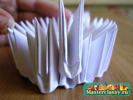 Оригами Лебедь Мастер класс Master classy - мастер классы для вас.