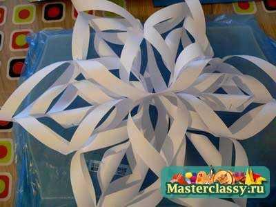 Снежинки из бумаги. Схемы