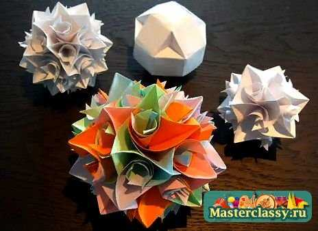 Оригами – снежинка