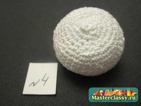 Вязание крючком Снеговик Мастер класс Master classy - мастер классы для вас.