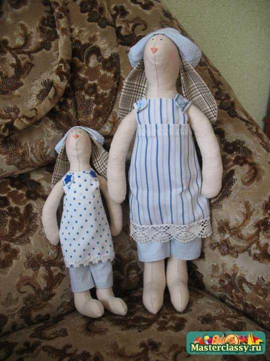 Куклы Тильда. Кролик. Выкройки