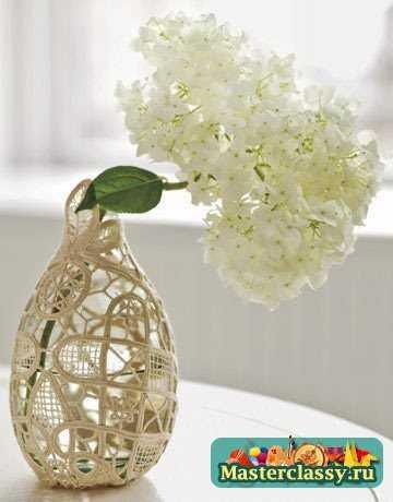 Прозрачная ваза своими руками фото 854