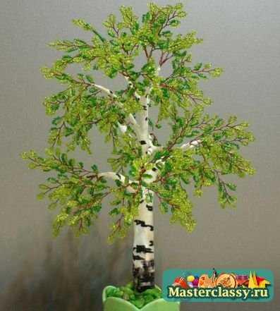 Деревья из бисера- 55 шт. (для Ольги из Нарвы).  Олюшка посмотри что ты ещё не делала, может тебе что...