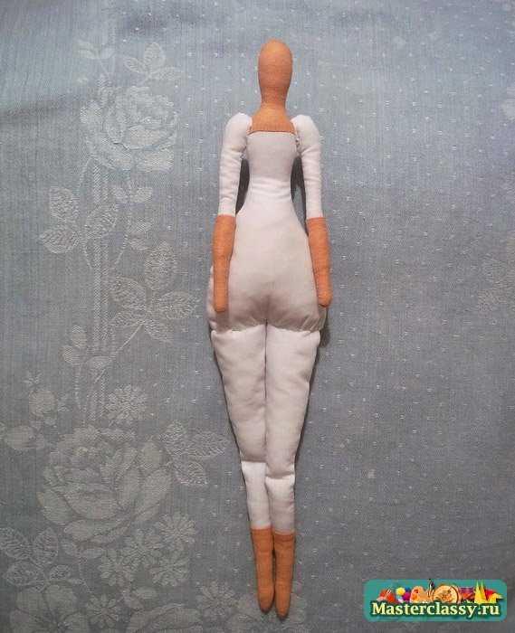 Сколько материала нужно на куклу тильда