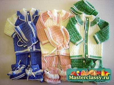 Зимние модели вязания женской одежды