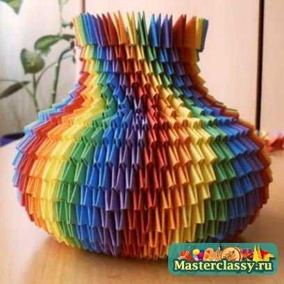 Треугольное оригами