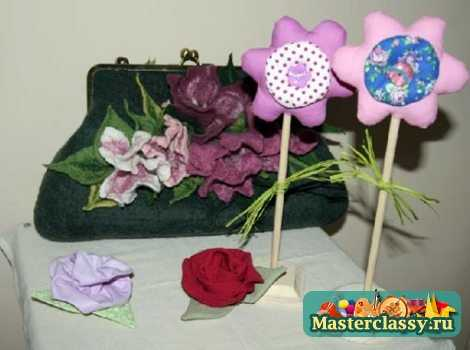 тильда цветы