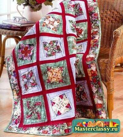 Пэчворк схемы изделия- это первый шаг в работе.  Выполняется ли прихватка или одеяло, начинать необходимо с...