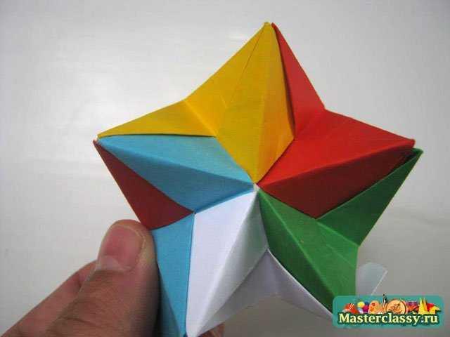 Модульное оригами. Звезда