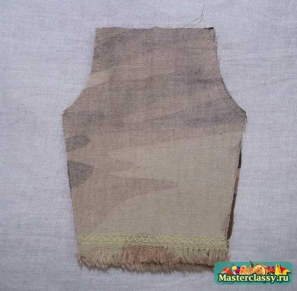 Описание: юбка трапеция с запахом.