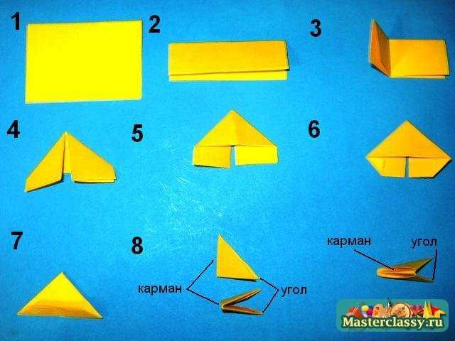 Модули бумажные что можно из них сделать и как 618