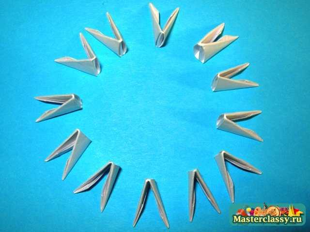 бумажное оригами. оригами кошелек схема.