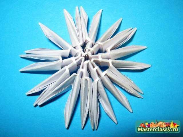 Модульное оригами танк мастер класс