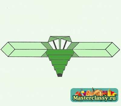 Оригами «Крокодил» схемы