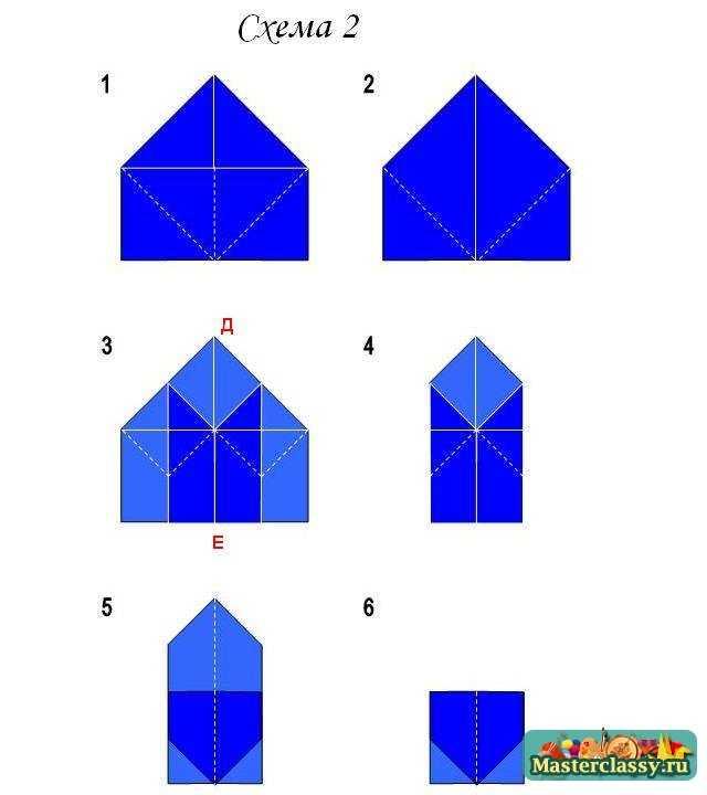 Оригами для начинающих.  Коробочка Санбо.  Мастер класс.