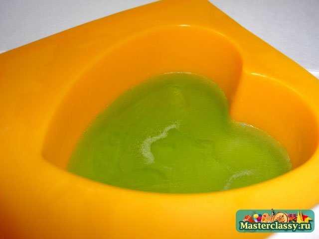 Мыло в домашних условиях Сердечко