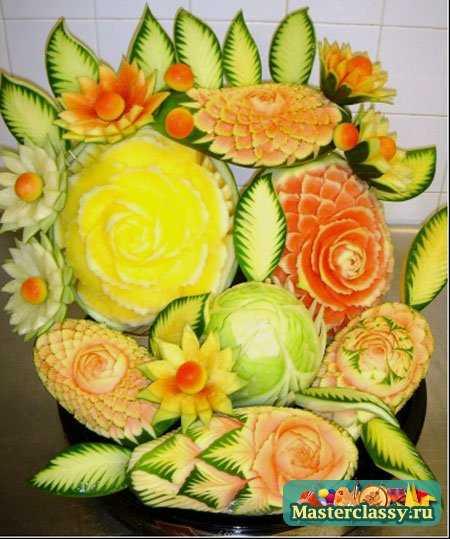 Поделки из овощей для выставки видео