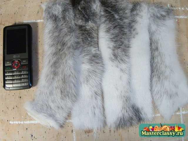 сшить шапку из меха песца: выкройка шапки из меха сшить, мех козы уход.