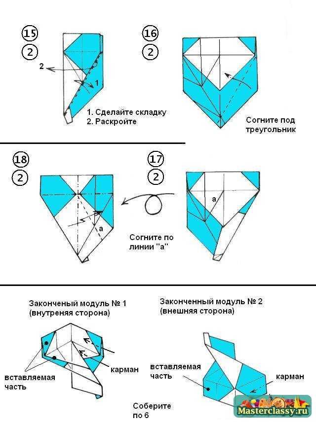 В конце схемы показаны