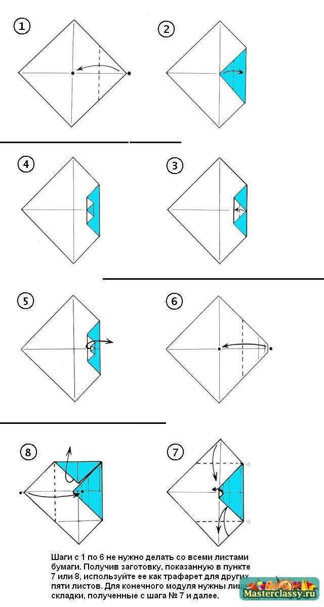 Дно шестигранной коробочки