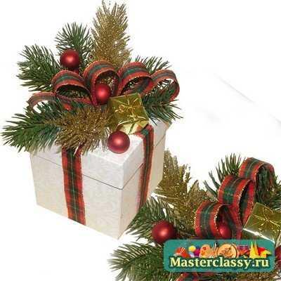 Новогодних подарков своими руками