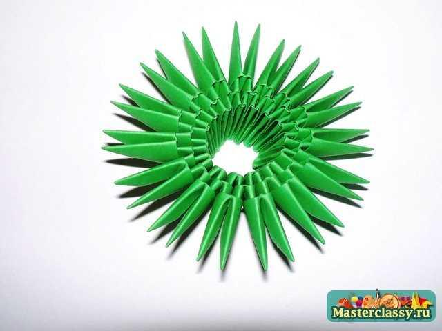 Корзина из бумаги модульное оригами 84