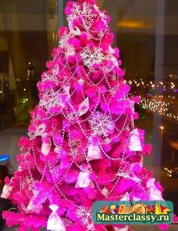Из чего можно сделать новогоднюю елку своими