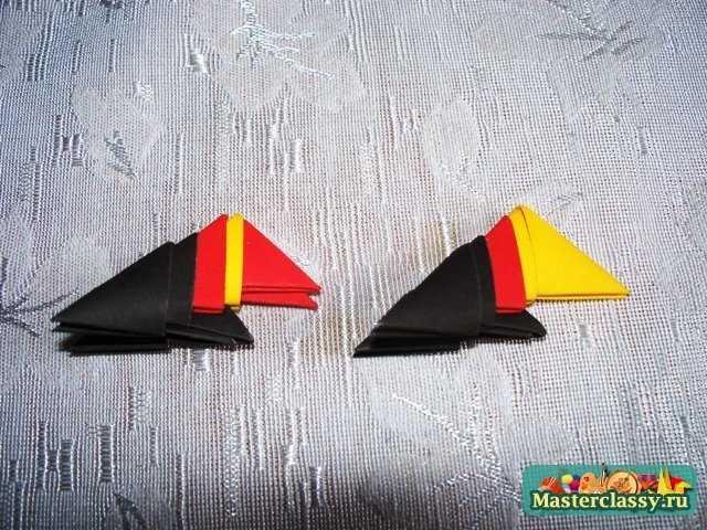 Модульное оригами дракон, Дракон модульное оригами