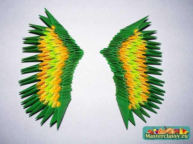 Сборка крыла Дракона