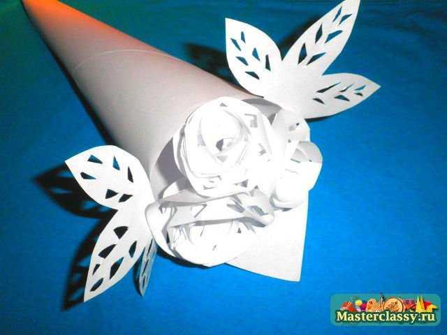 Поделки из бумаги своими руками с белой бумаги 55