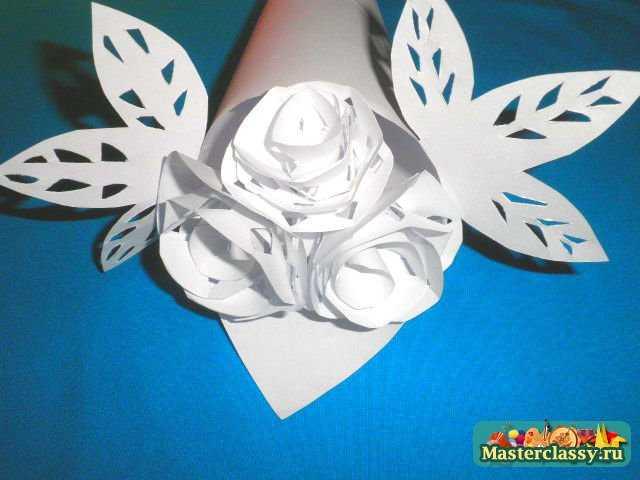 Поделки из бумаги своими руками с белой бумаги 13