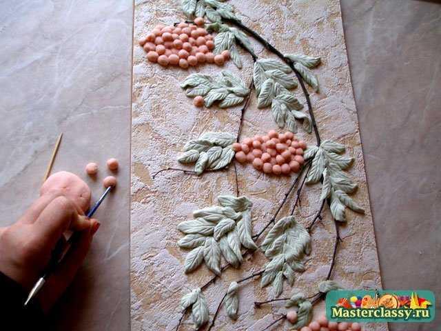 Красивые панно из теста для садика