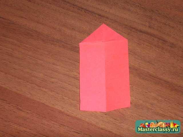 Оригами для начинающих.  Цветок лотоса.  Мастер класс.