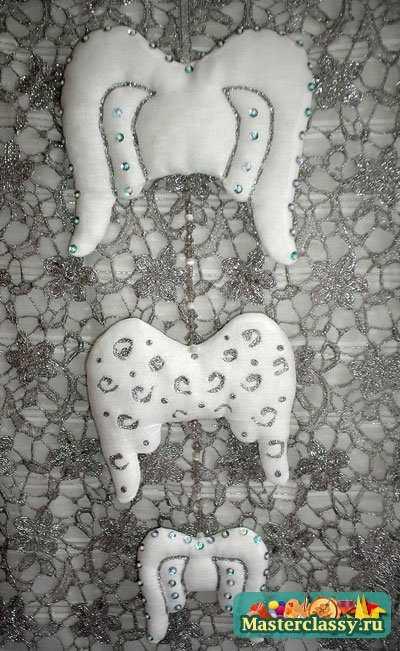 Елочные игрушки своими руками