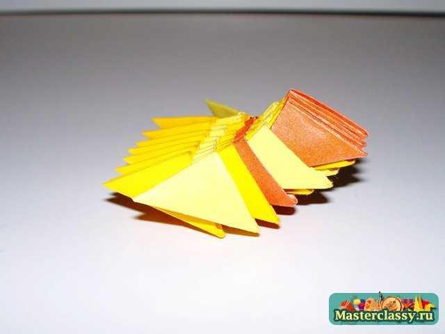 Модульное оригами.  Рыбка.  Мастер-класс.