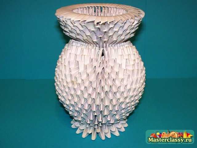 Сборка вазы – основная часть