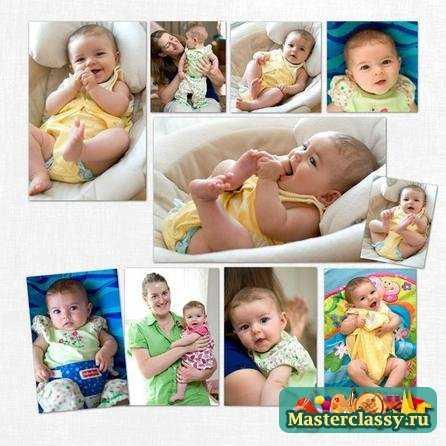 Фотоальбом для новорожденного своими руками