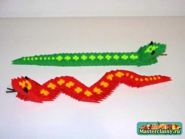 Простая модульная змея