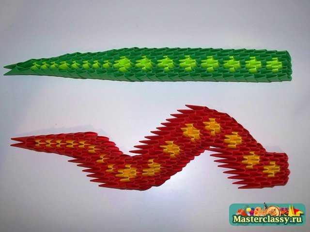 Туловище змеи