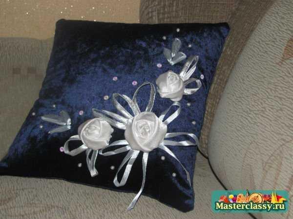 подушка декоративная своими руками