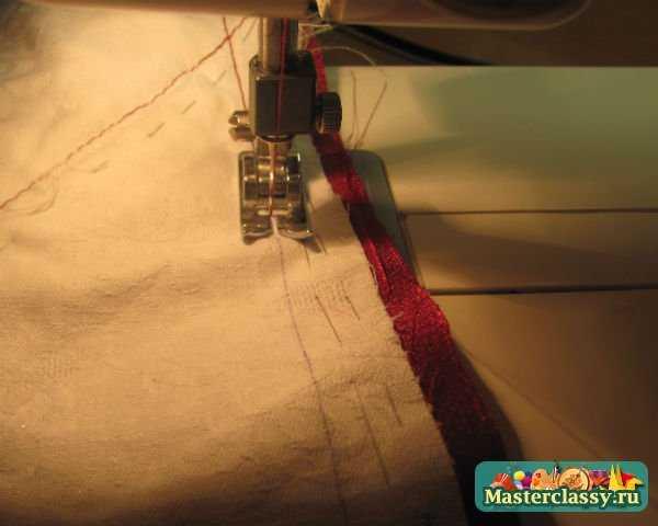 изготовление подушки