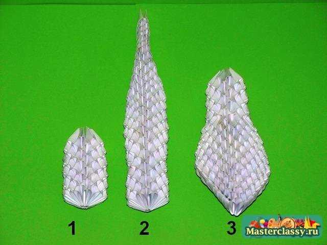 Основные детали модульной змеи