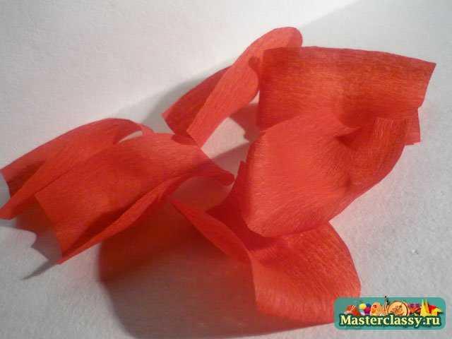 как сделать розы из бумаги