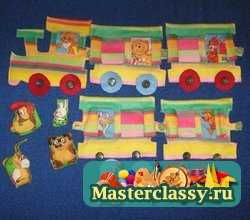 Развивающие игрушки своими руками 4 года