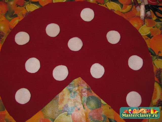 Как сделать шапочку грибочка своими руками из бумаги
