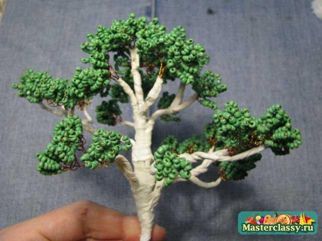Деревья из бисера.  Рябина своими руками.  Пошаговый мастер класс с фото Вы наверняка...