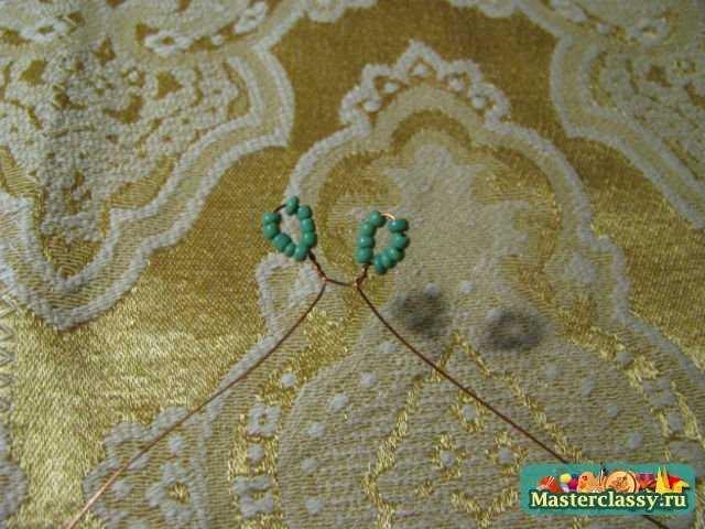 петельки из бисера